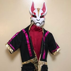 Fortnite Drift Costume size 8-10 with Axe